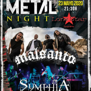 metal night lone star
