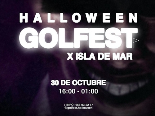 Halloween golf fest ISDM